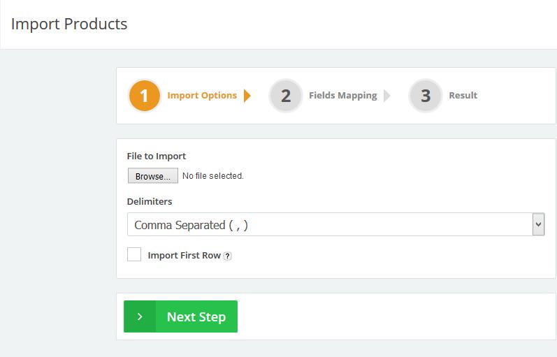 Import-step-1