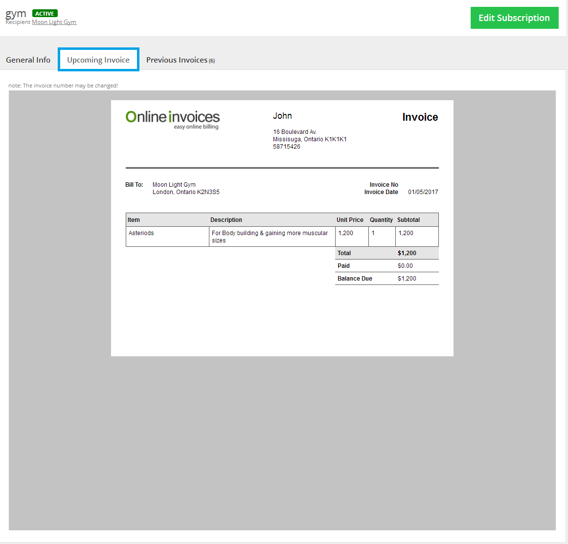 upcoming-recurring-invoices-page