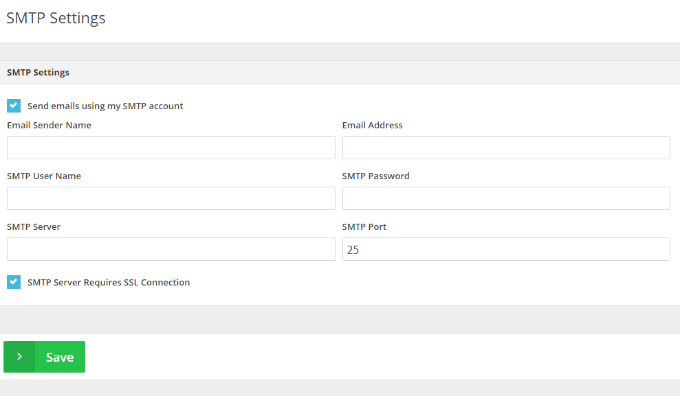SMTP-settings-for-online-invoices