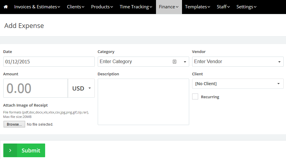Track Expenses for Your Company & Generate Profit & Loss Report ...