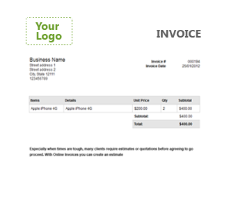 Online Billing Invoices Management Software Online Invoices - Free online invoice generator for service business